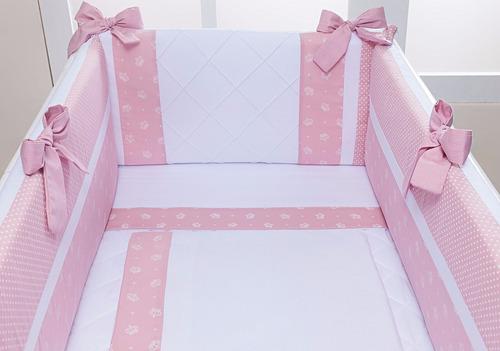 kit mini berço menina menino kit berço canaã moisés menina(o
