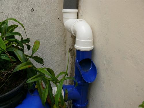 kit mini cisterna 240l - bombona para coleta - frete grátis!