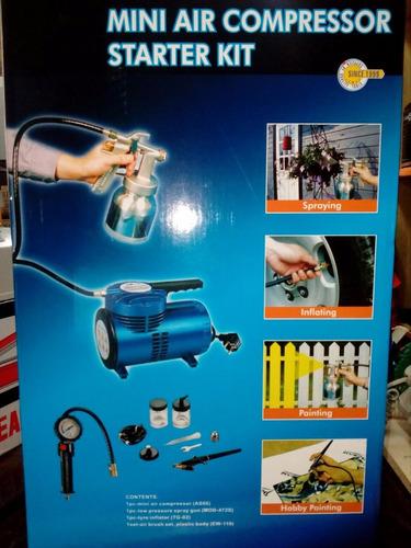 kit mini compresor de aire marca thomas