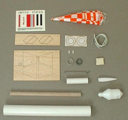 kit mini foguete nike apache para iniciantes voa de verdade