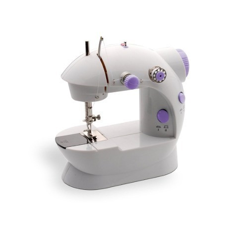 kit mini maquina coser portatil compacta eléctrica + manual
