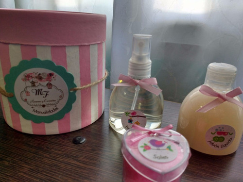 kit mini spa para nenas