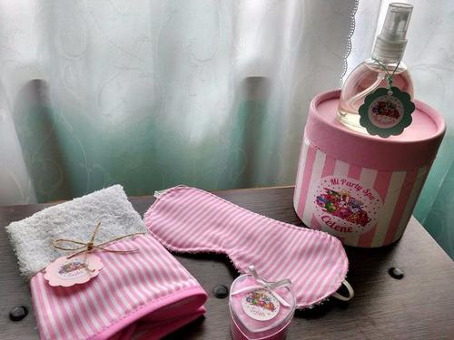 kit mini spa para nenas