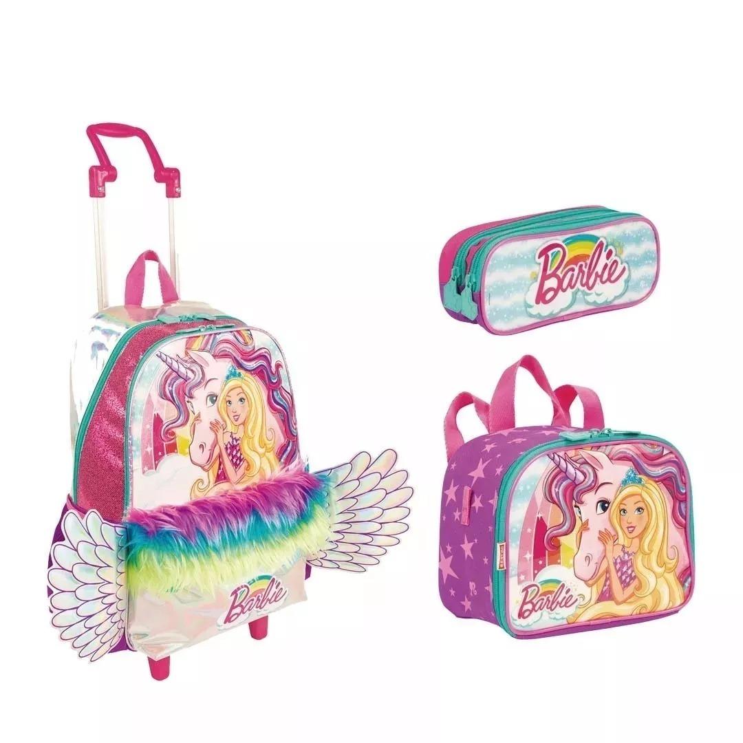 d9d4e4545 kit mochila barbie dreamtopia asas rodinhas g sestini 2019. Carregando zoom.