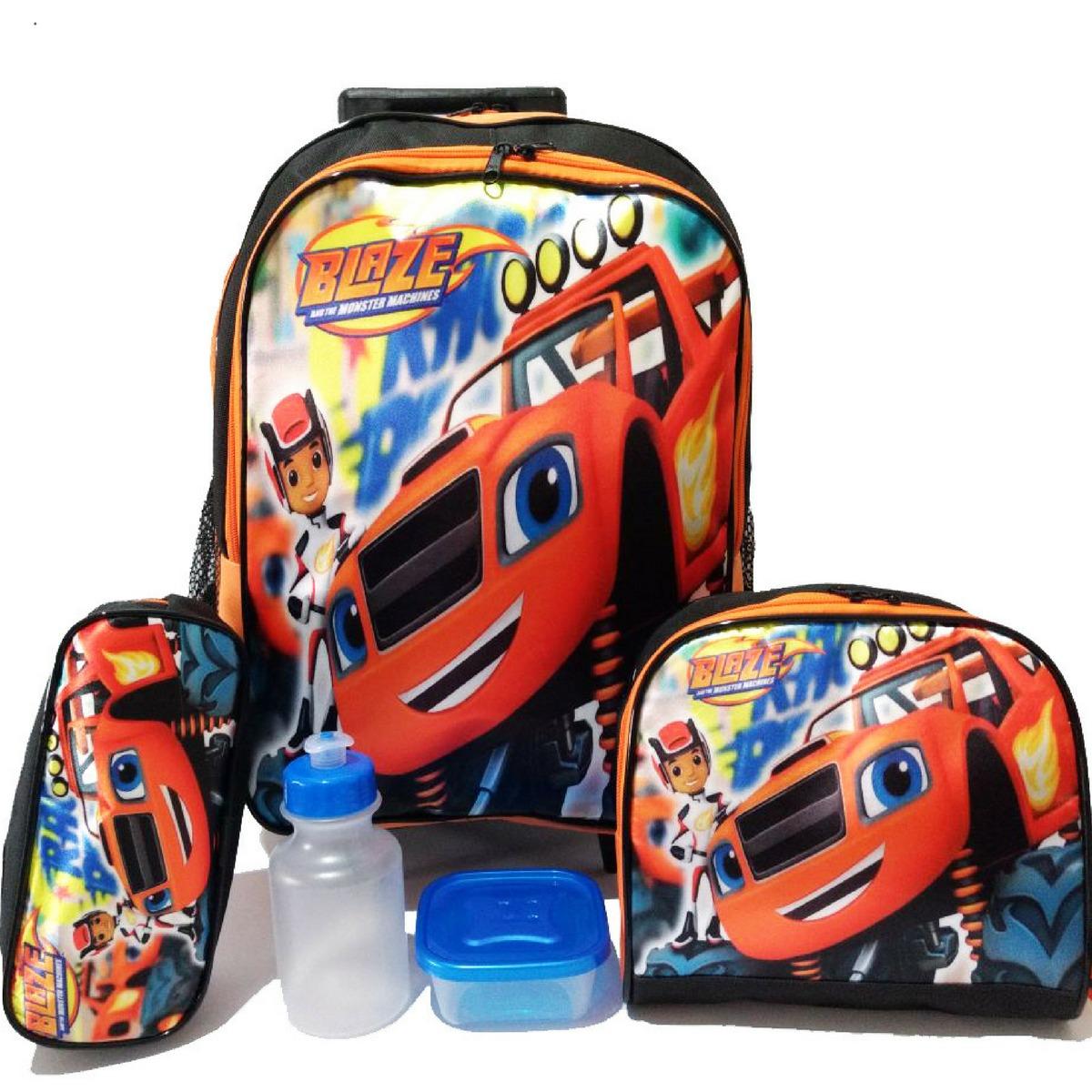 c99f03f23 Kit Mochila Blazer Monster Tam G Rodinha Frete Grátis - R$ 159,90 em ...