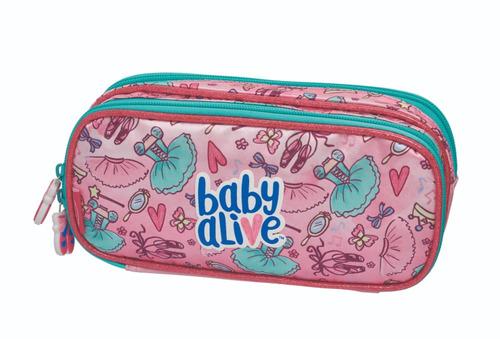 kit mochila carrinho g baby alive ballet 980a01 - pacific