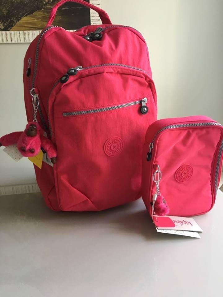 b255c6209 Kit Mochila Class Seoul Kipling + Estojo 100 Pens - R$ 479,00 em ...