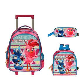 7ace0956f Mochila Angry Birds - Mochilas Escolar no Mercado Livre Brasil