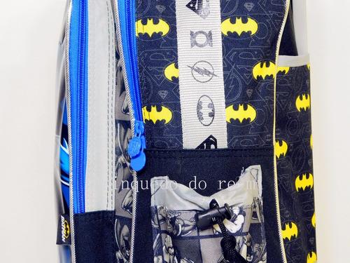 kit mochila de rodinhas g batman  2019