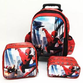 9bd70f901 Kit(mochila E Lancheira)escolar Masculino - Mochilas Escolar para ...