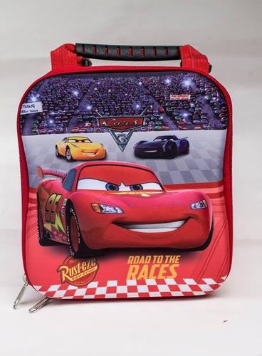 kit mochila escolar 3d -- cars