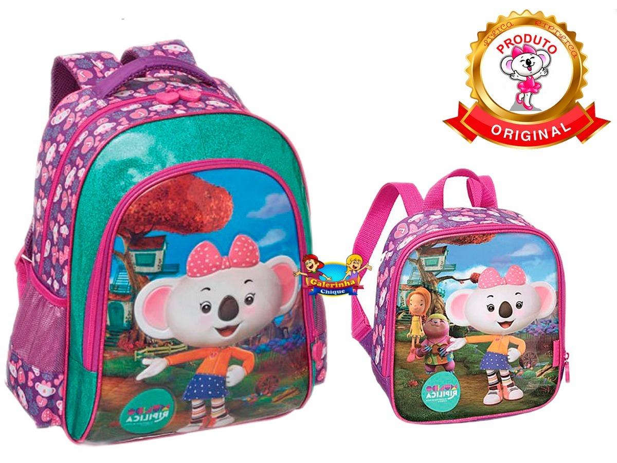 c645a15114668 kit mochila escolar costas lanchr mundo lilica ripilica 2019. Carregando  zoom.