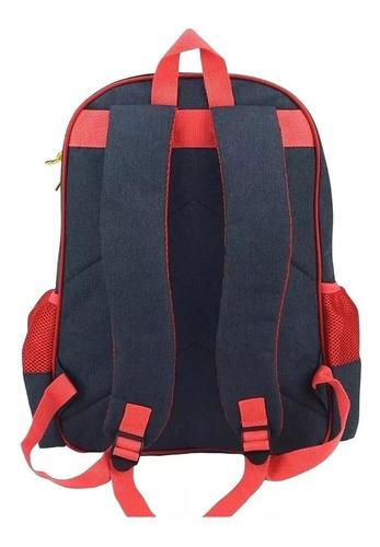 kit mochila escolar + estojo snoopy 3d infantil - luxcel