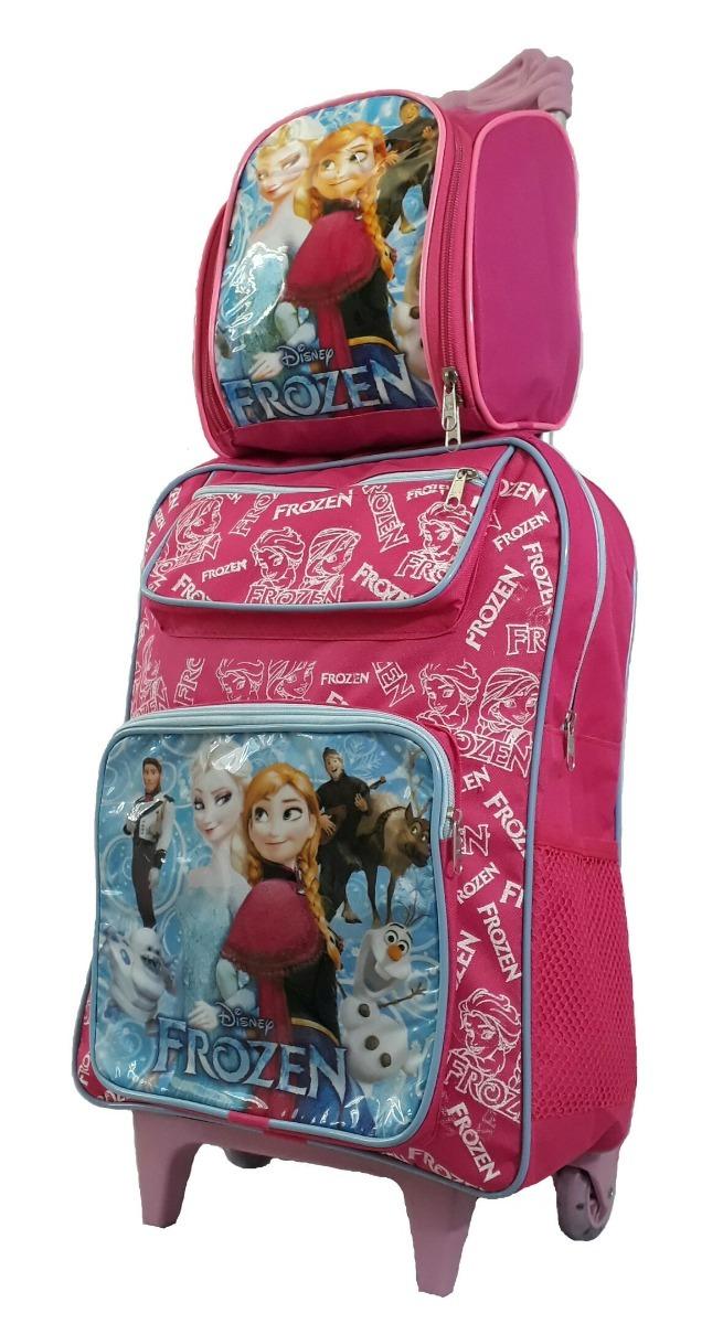 a1447431fd kit mochila escolar infantil frozen lancheira estojo barato. Carregando  zoom.