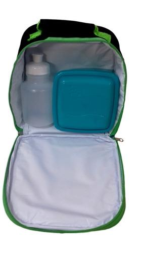 kit mochila escolar infantil hulk relógio avenges tam p
