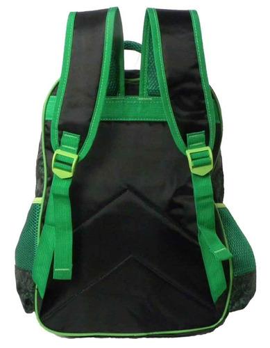 kit mochila escolar infantil minecraft lancheira estojo - g