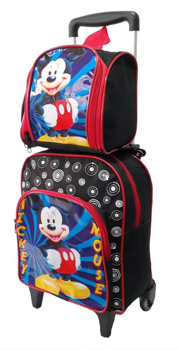 aa6c59e159eb3f kit mochila escolar mickey lancheira estojo promoção meninos. Carregando  zoom.