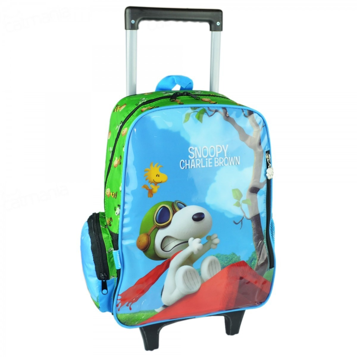 Bolsa De Rodinha Infantil Pequena : Kit mochila escolar snoopy infantil com rodinha e