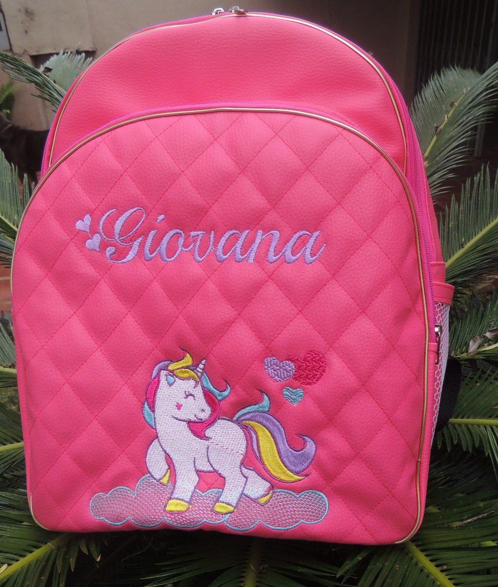 e8501ed2f Kit Mochila +estojo Escolar Personalizados - R$ 155,00 em Mercado Livre