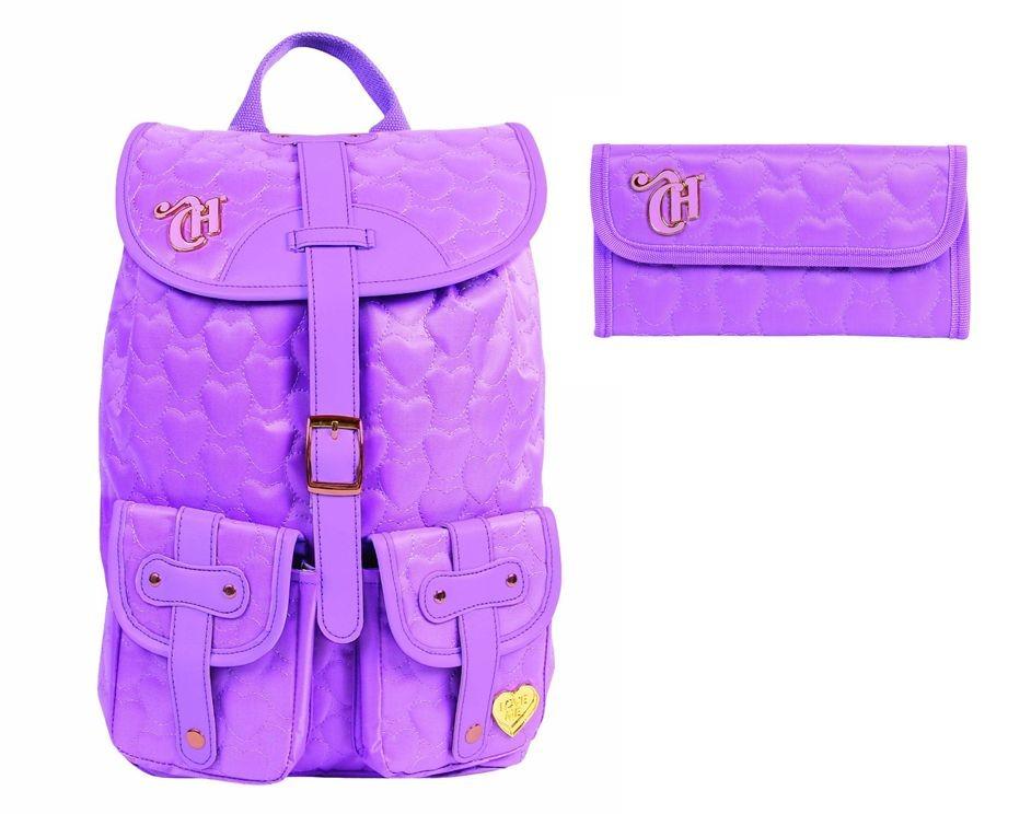 8be8c16f1 kit mochila feminina dmw bolsa reforçada escolar e carteira. Carregando  zoom.