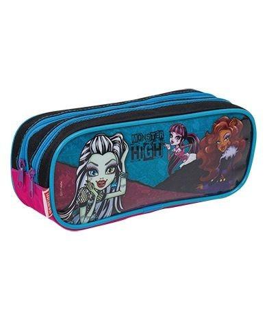 kit mochila g monster high 15z costas cadarço sestini rosa