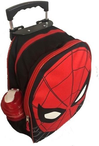 kit mochila homem aranha lancheira infantil 2019 spider