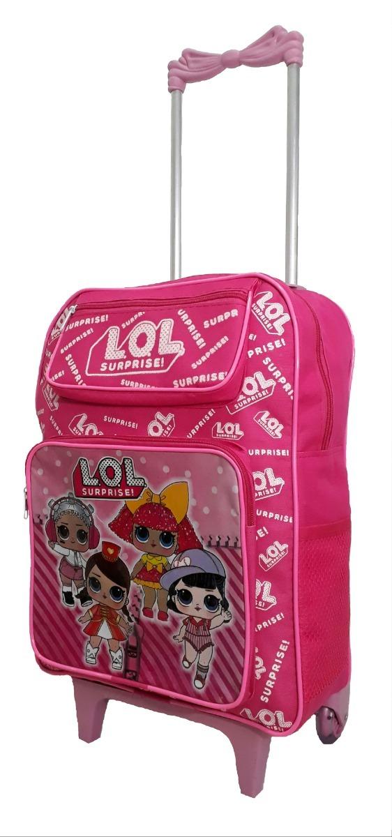 c91dac653 kit mochila infantil feminina lol grande bolsinha oferta. Carregando zoom.