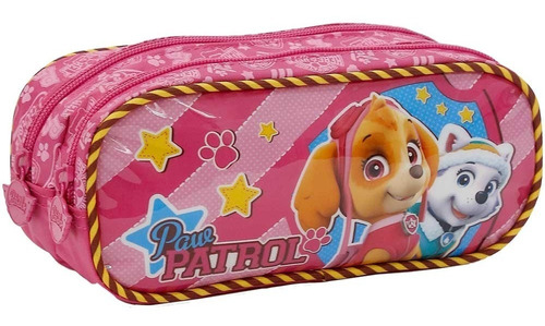 kit mochila+lanch+esto patrulha canina team skye girl g-7982