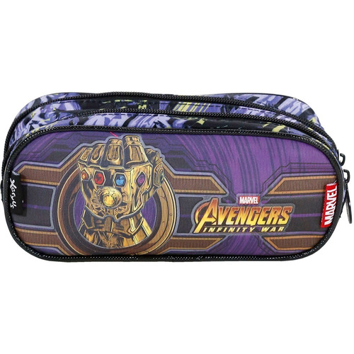 kit mochila+ lanch+ estoj avengers infinity g xeryus-7512