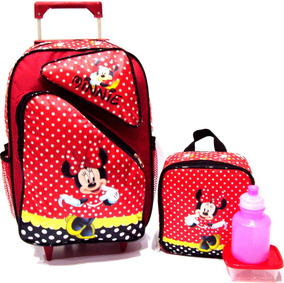 71adf1531 Mochila Da Minnie Vermelha - Mochilas Escolar no Mercado Livre Brasil