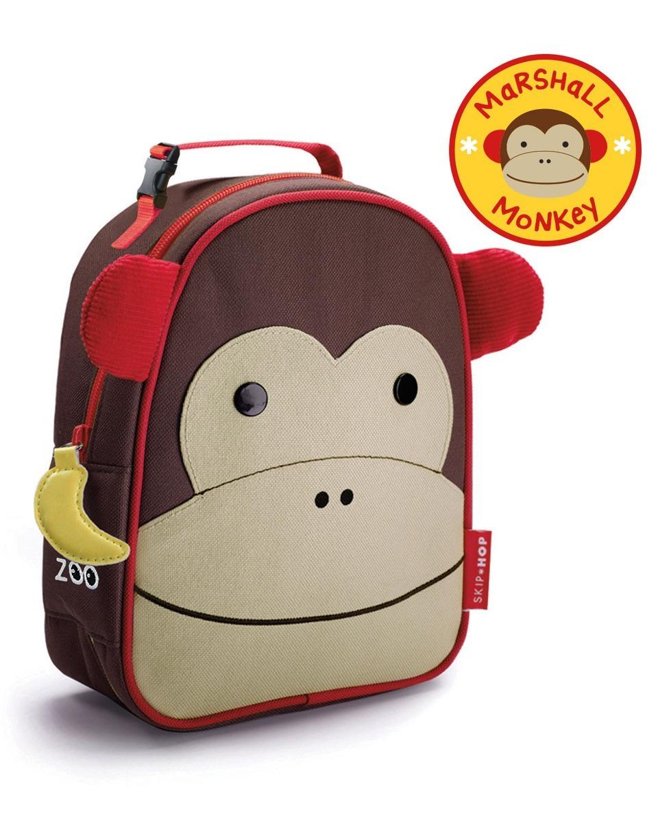 00819bb371 kit mochila rodinha g infantil skip hop zoo original macaco. Carregando zoom .