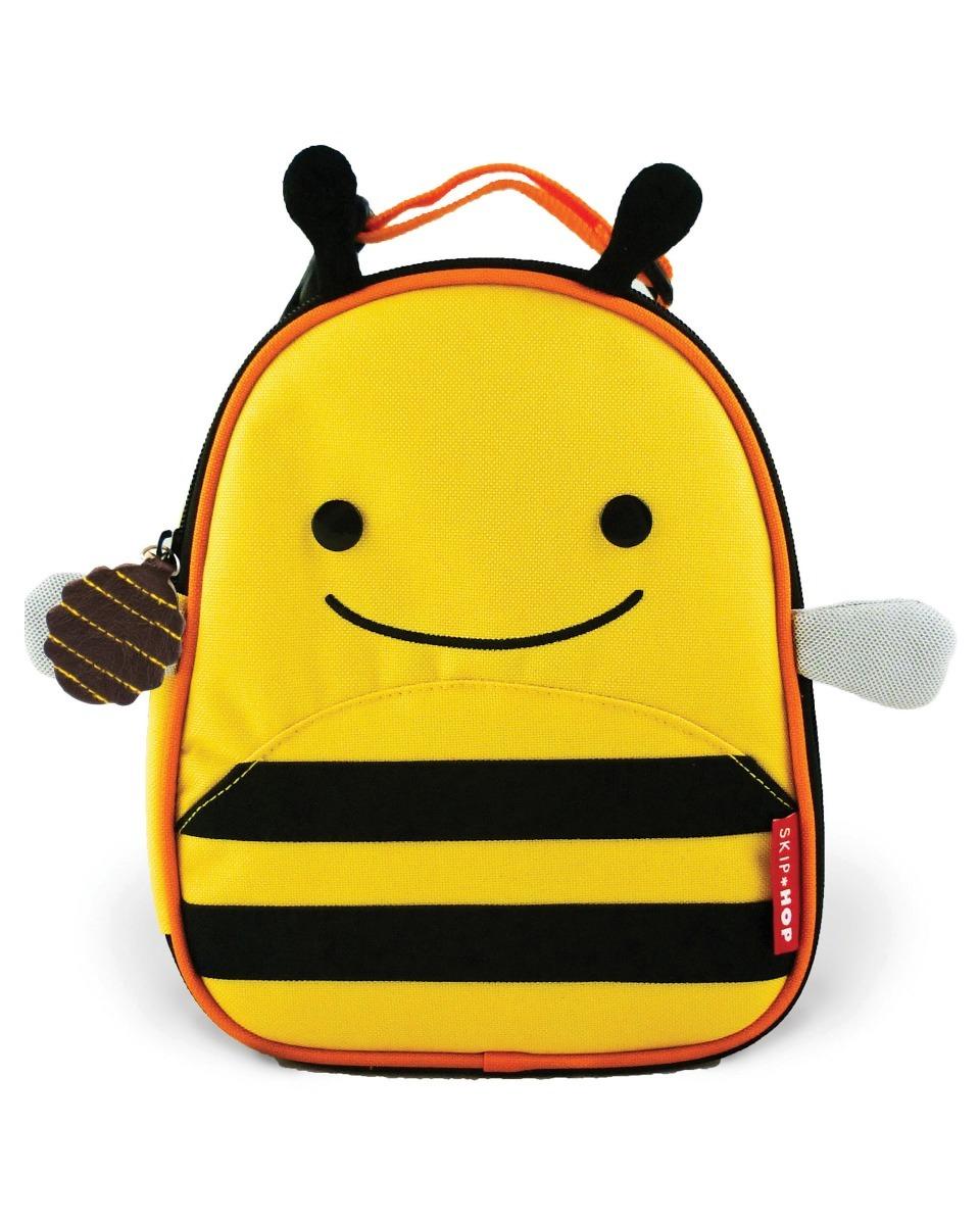 ac42f658f9 kit mochila rodinha infantil skip hop zoo original abelha. Carregando zoom.