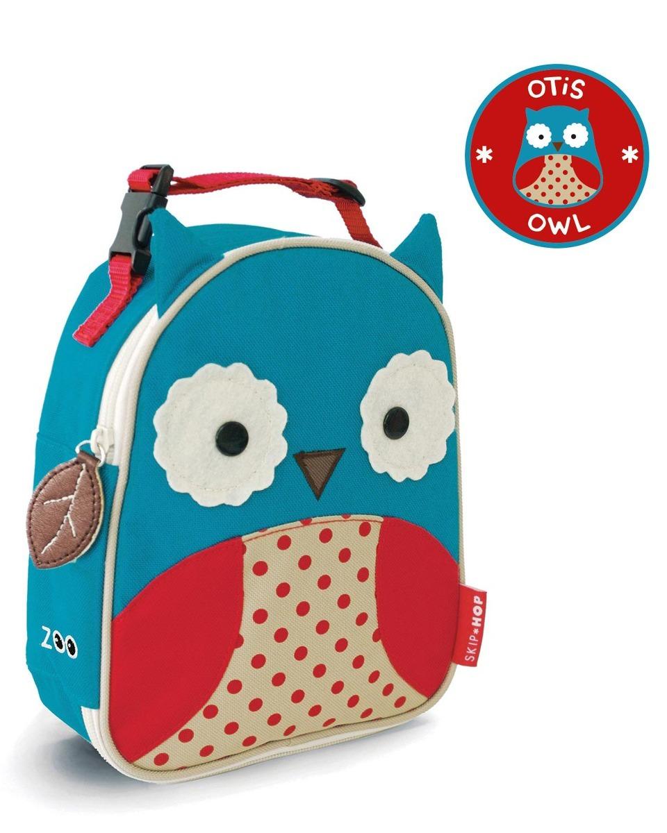 1f4cae16e9 kit mochila rodinha infantil skip hop zoo original coruja. Carregando zoom.