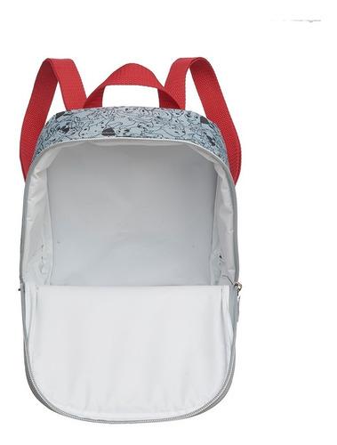 kit mochila rodinha + lancheira estojo 101 dalmatas - pacifc