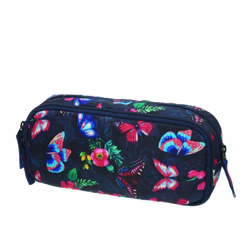 kit mochila rodinha lancheira estojo pack me girly pacific