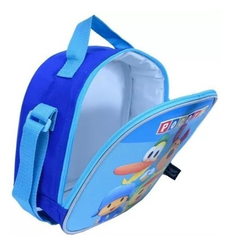 kit mochila rodinha m lanch estojo pocoyo santino pok18123