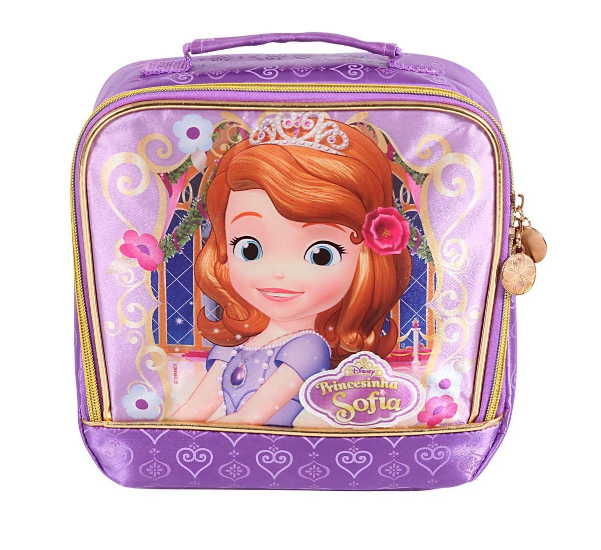420319f59 kit mochilete g lancheira estojo disney princesa sofia eva. Carregando zoom.