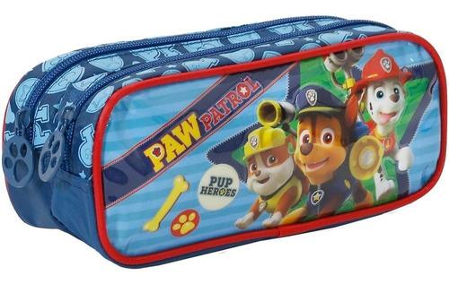 kit mochilete+lanch+estoj patrulha canina pup heroes m -7941