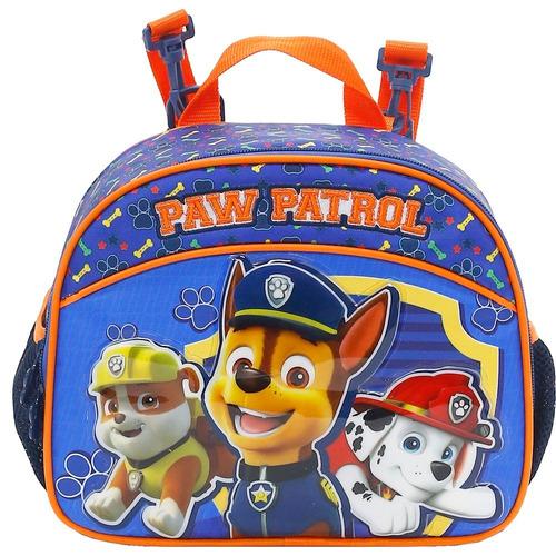 kit mochilete+lanch+estoj patrulha canina team work m -7991