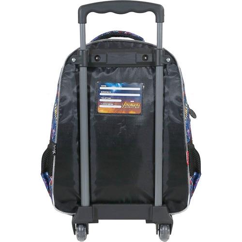 kit mochilete + lancheira  avengers armored  g xeryus- 7490