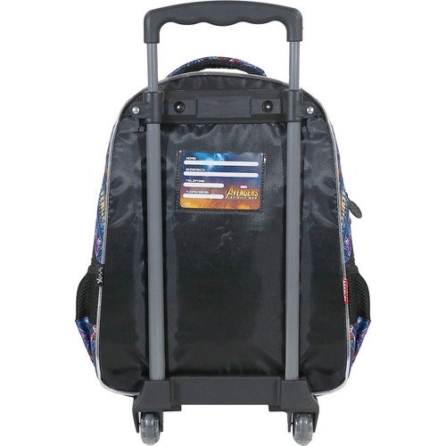 kit mochilete + lancheira  avengers armored  m xeryus- 7491