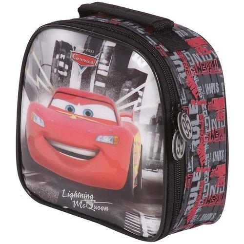 kit mochilete+lancheira carros relampago mcqueen g - 60088
