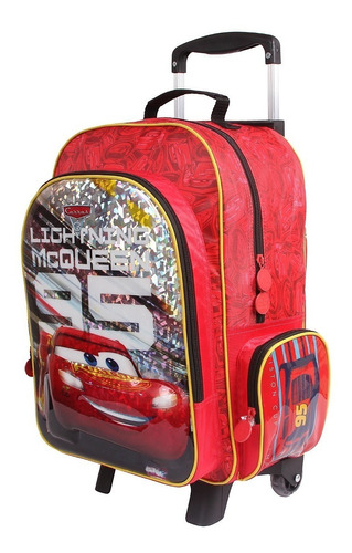 kit mochilete+lancheira g carros 3d dermiwil - 30074