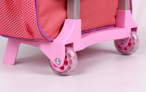 kit mochilete marie 52010 + lancheira + estojo + garrafa