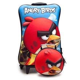 Kit Mochilete+lancheira Eva Angry Bird Maxtoy 2940 037128
