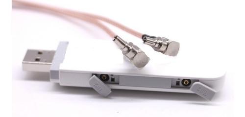 kit modem 3/4g huawei 8372 + adaptador e antena imã veicular