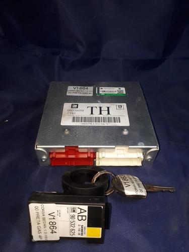 kit módulo de injeção corsa 00 1.0 16v gas 09370459 th v1864