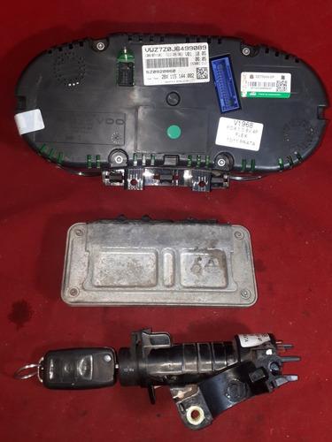 kit módulo de injeção fox 11 1.0 8v flex 030906034aj v1968