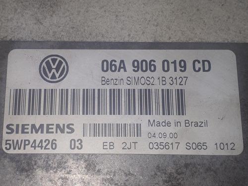kit módulo de injeção golf 01 1.6 8v sr 06a906019cd v1953
