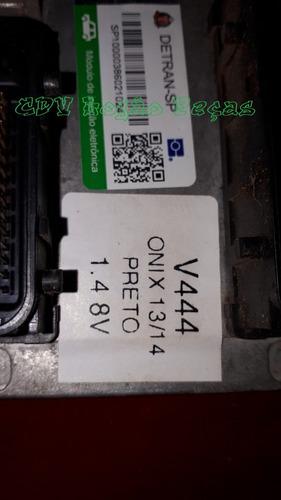 kit módulo de injeção onix ltz 13/14 1.4 8v flex abjt v444